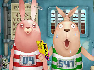 可愛到不行的監獄兔