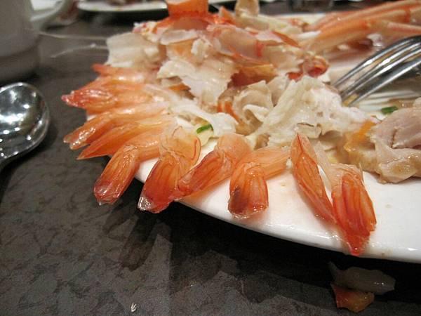 哈哈我吃好多蝦蝦