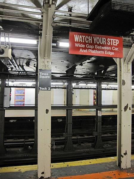 唯一讓我很不滿意的就是地鐵啦