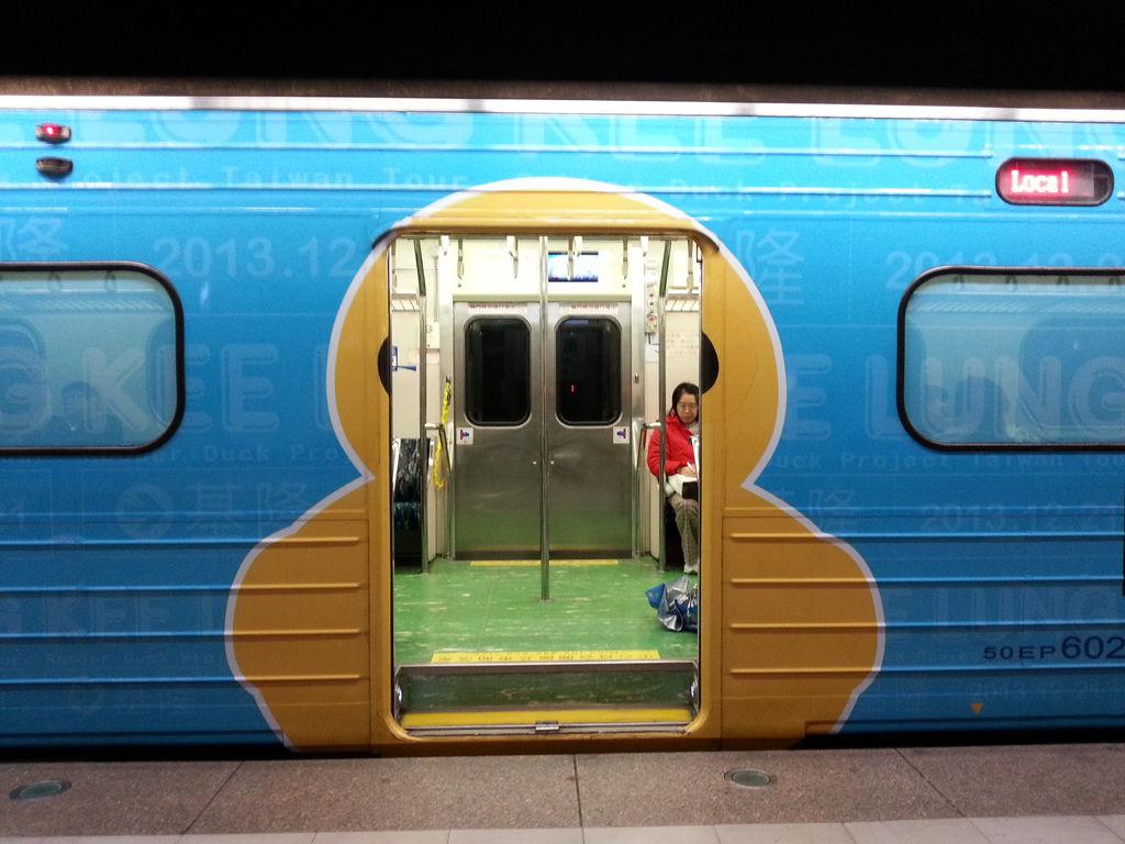 黃色小鴨彩繪車