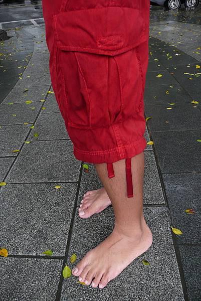 赤腳車小斌的赤腳生活日記 - 雨天的腳