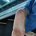 赤腳走路,提升免疫力。