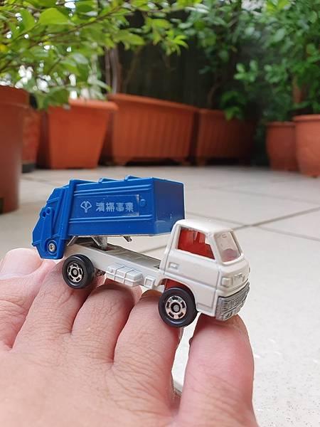 日本製 Tomica小汽車, Tomica Mitsubishi Canter 清掃事業車, 三菱堅達垃圾車