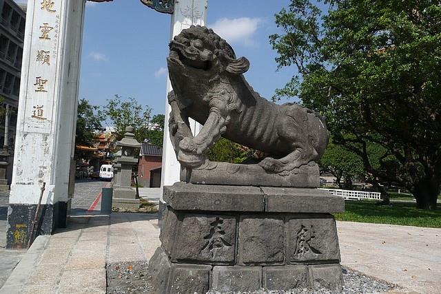 新莊神社的狛犬