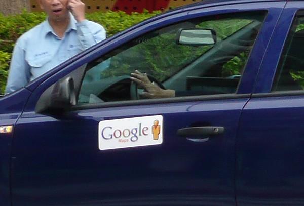 Google行動製圖車