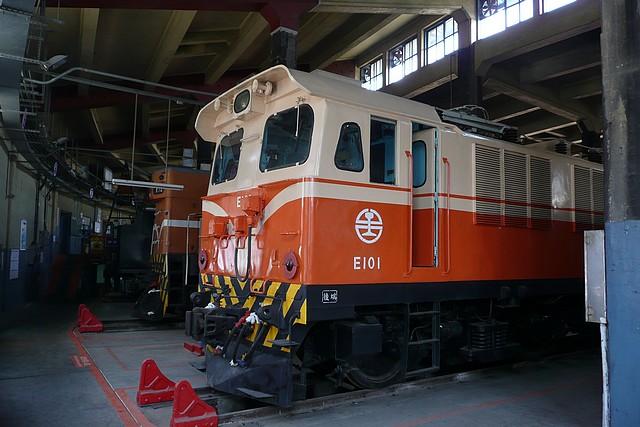 E101@彰化扇形車庫