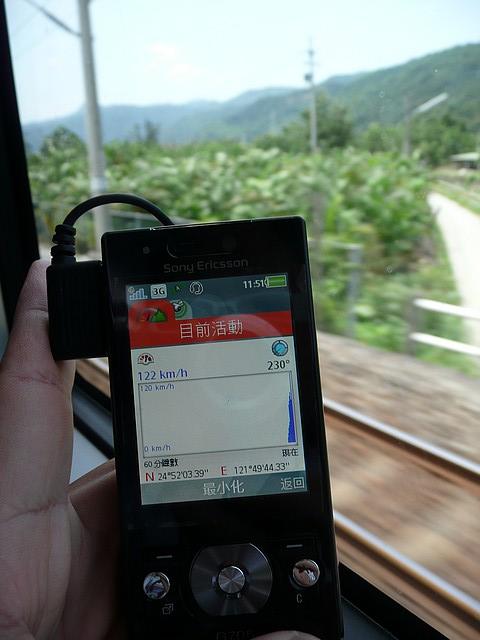Sony Ericsson G705 GPS