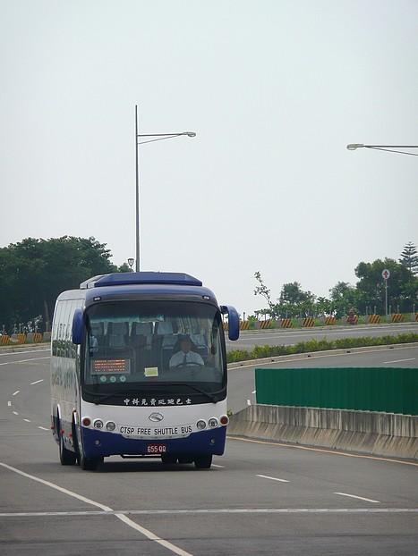 中科免費巡迴巴士藍線@科園路