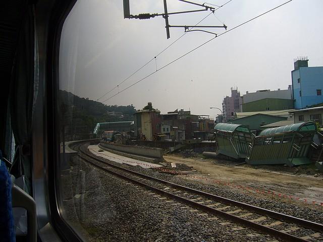 山佳站月台