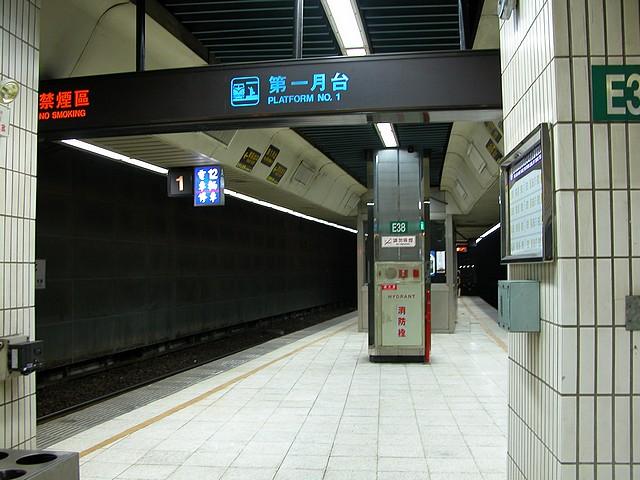 台北站第一月台