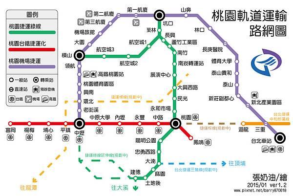 桃園捷運ver1.2