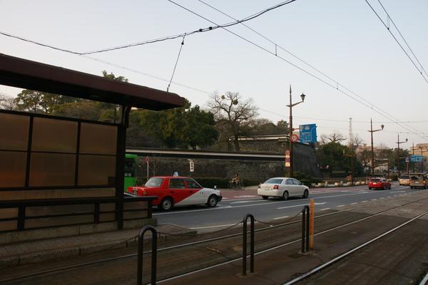 路面電車車站