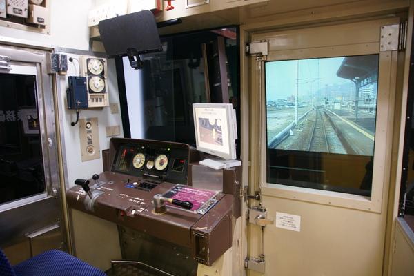 鹿児島本線的模擬運轉室