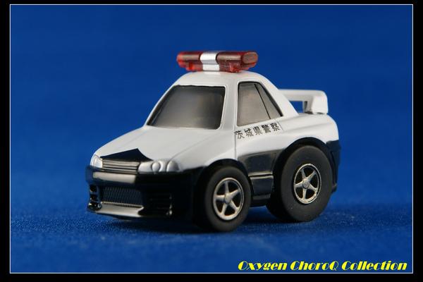 R32型GT-R・茨城県警
