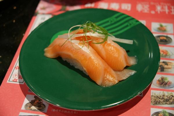 鮭魚腹握壽司