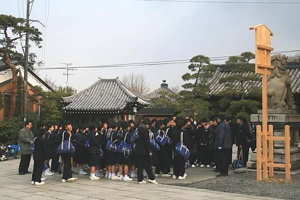 日本學生修業旅行