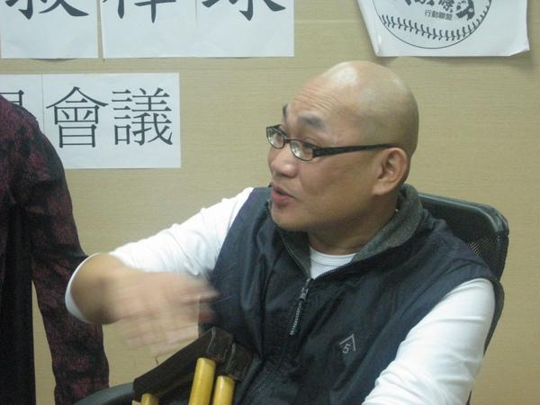 知名棒球作家瘦菊子老師