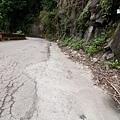 水泥化的邊坡