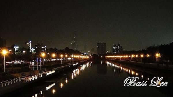 前鎮河畔之黑夜