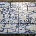 地上磁磚地圖