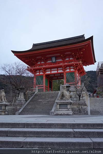 關門的清水寺