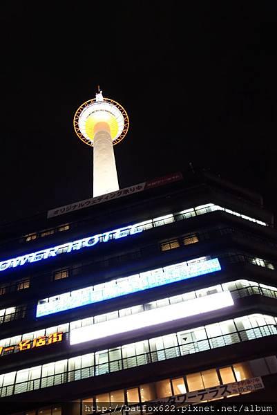 夜探京都塔
