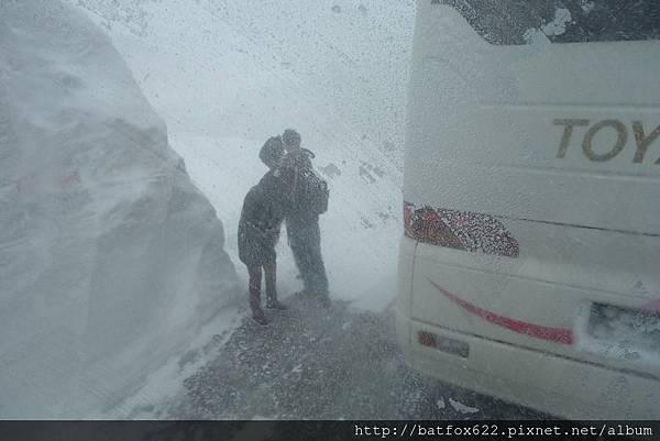 立山黑部大風雪