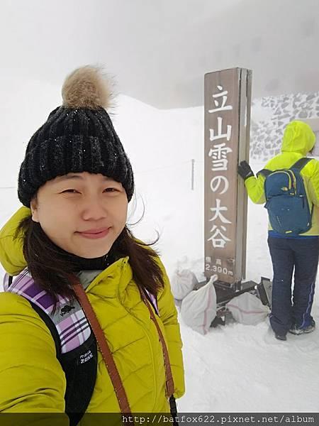 雪之大谷大風雪