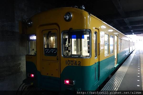 電車前往富山