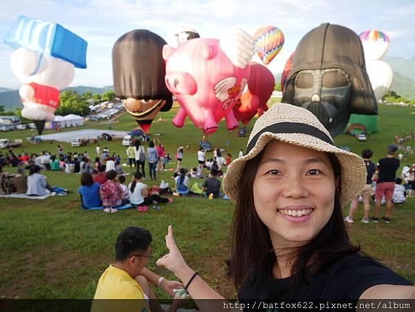 熱氣球背景