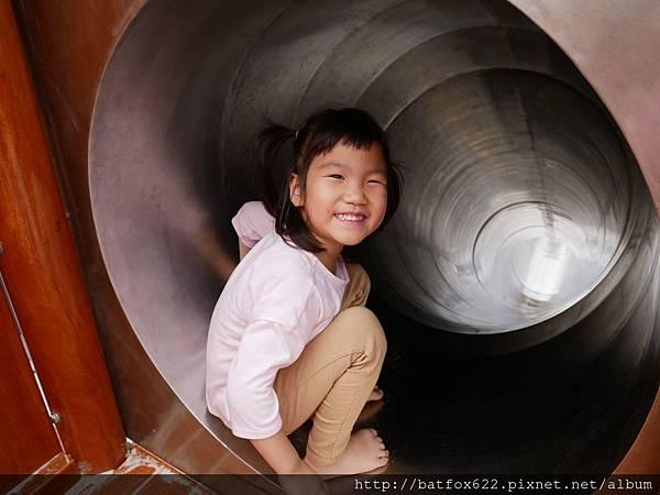 水管溜滑梯
