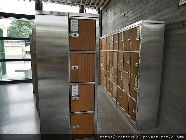 左鎮化石園區置物櫃