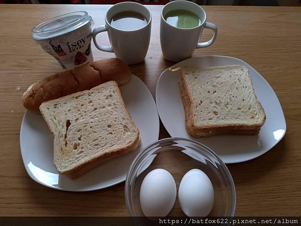 自助第12天早餐
