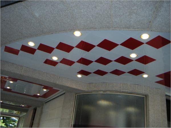 BM鋁合金系統天花板騎樓
