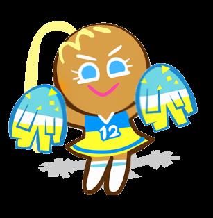 啦啦隊餅乾
