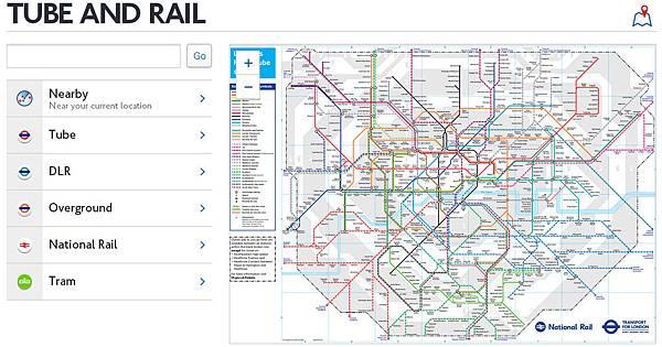 倫敦地鐵圖下載