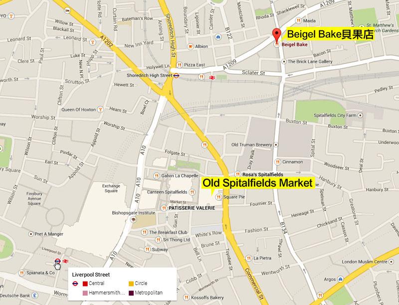 Brick Lane貝果與Old Spitalfields Market市集-1