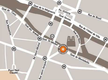 巴黎人遊船-聖母院