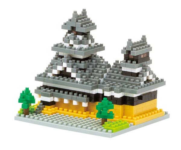 nano block積木- 熊本城