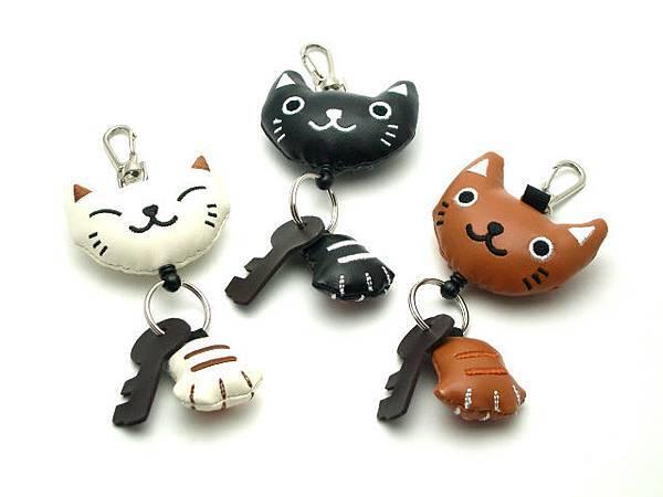 貓咪鑰匙圈(可伸縮)-1