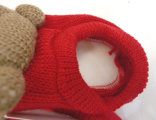 熊熊毛線鞋-1