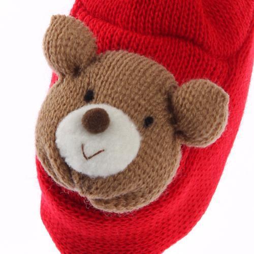 熊熊毛線鞋-2