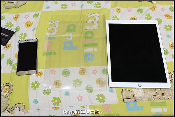 為ipad pro貼上imos及與13吋nb外觀比較  - 5