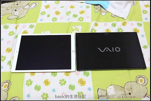 為ipad pro貼上imos及與13吋nb外觀比較  - 15
