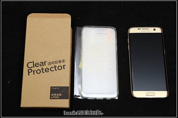 """幫S7 edge穿衣服--透明殼專家TPU保護套及""""滿版""""保護貼"""