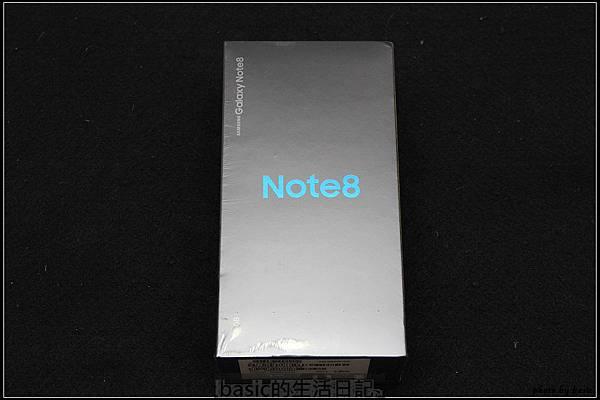 目前最夯的NOTE , Galaxy Note8市售版完整開箱 - 2