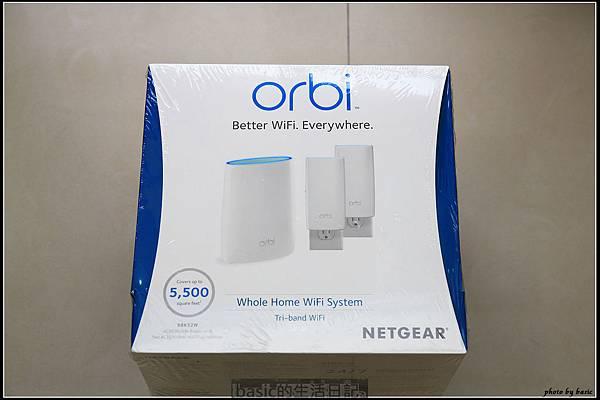 大坪數空間或透天別墅的無線網路救星–NETGEAR Orbi RBK52W開箱使用分享(MESH網狀覆蓋技術) @basic的生活日記