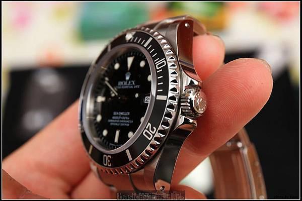 經典的Rolex Sea-Dweller 16600