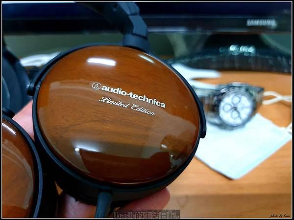 鐵三角ATH-ESW900LTD限量版木殼小耳罩開箱分享