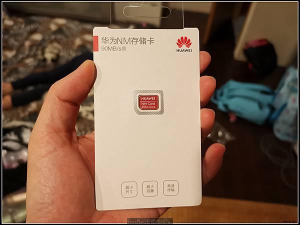 華為NM記憶卡256GB開箱,測試,分享